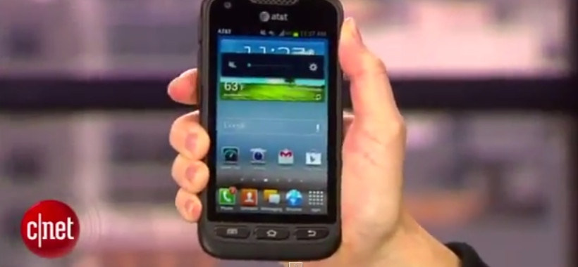 Samsung Galaxy Rugby Pro i547 Review