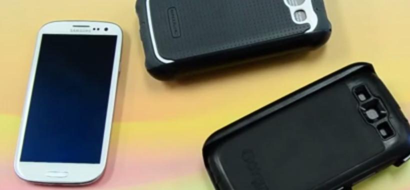 Samsung Galaxy S3 Otterbox vs Ballistic