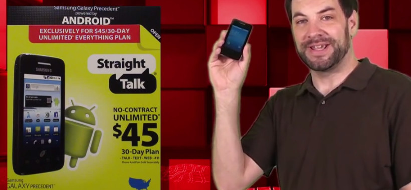 Straight Talk Samsung Galaxy Precedent Android Review
