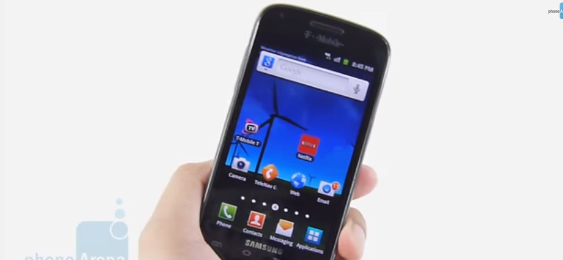 Samsung Galaxy S Blaze 4g T769 Review