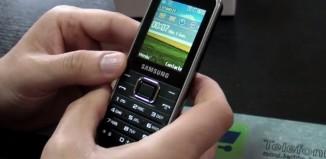 Samsung E3210 Review