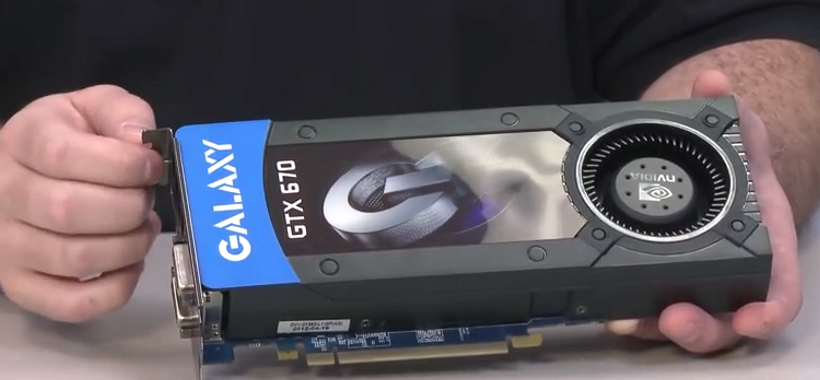 Galaxy GTX 670 Review