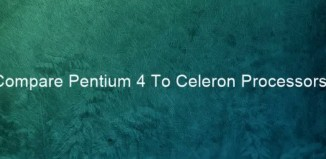 Difference Between Celeron and Pentium