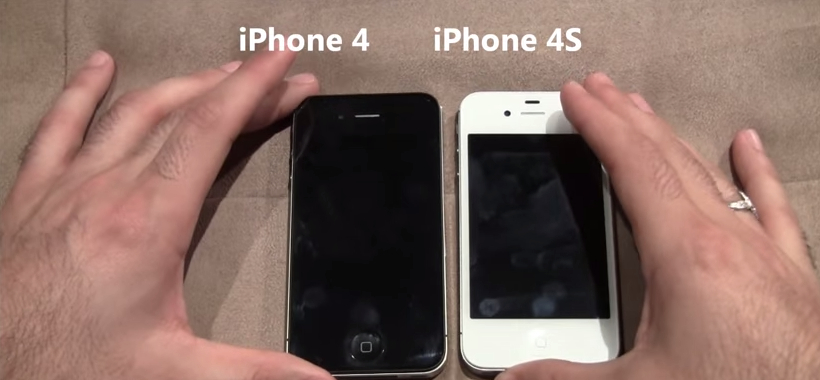 Difference Between Apple iPhone4 and 4S