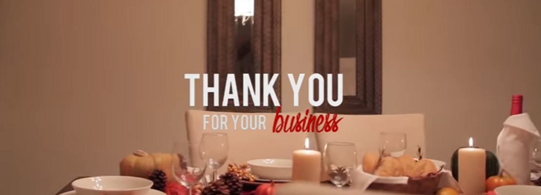 20 best thanksgiving messages for business